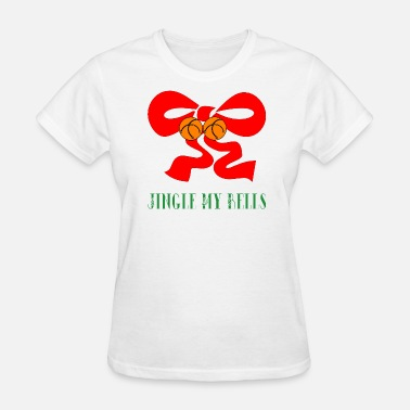 Mistletoe Jingle Bells Jingle My Bells Christmas - Women's T-Shirt