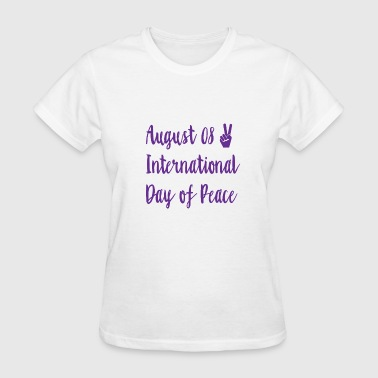 International Day of peace - Women's T-Shirt