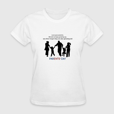 parents' day on fourth Sunday of July - Women's T-Shirt