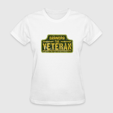 Veterans Day - Grandpa the veteran - Women's T-Shirt