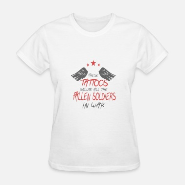Veteran Soldier Veterans day - Fallen Soldiers - Women's T-Shirt