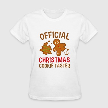 Official Christmas Cookie Taster - Women's T-Shirt