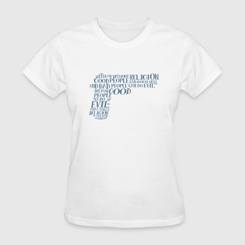 STEVEN WEINBERG quote-cloud by Tai's Tees - Women's T-Shirt