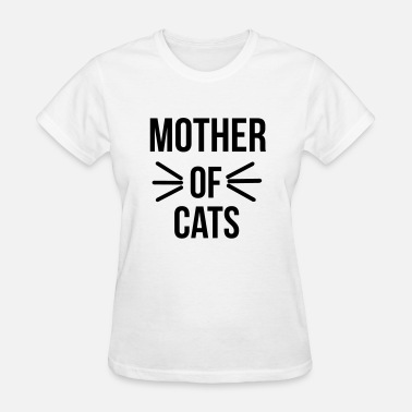 Cat Mother Mother of cats - Women's T-Shirt