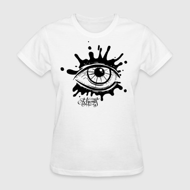 splatter eye - Women's T-Shirt