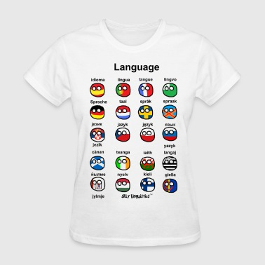Sign Language Language (Atlaans) - Women's T-Shirt