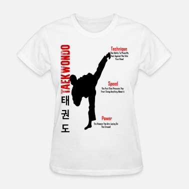 Korean Taekwondo Taekwondo - Women's T-Shirt
