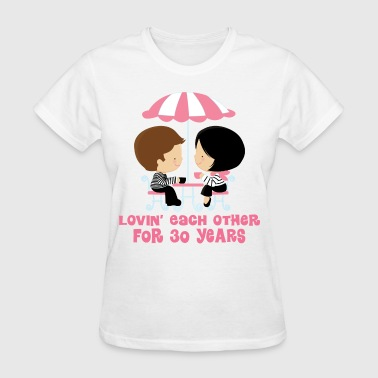 30th Anniversary Couple - Women's T-Shirt