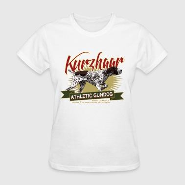 kurzhaar_athletic_gundog - Women's T-Shirt