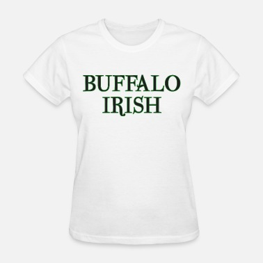 I-love-new-york-irish Buffalo Irish Clothing Apparel Shirt - Women's T-Shirt