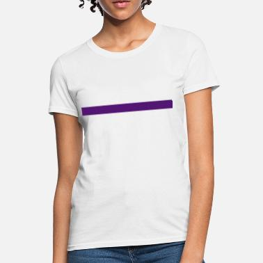 Yunho Purple Line - Women's T-Shirt