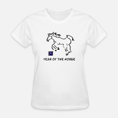 Chinese Zodiac 2014 2026 2002 1990 1978 1966 1954 1942 Year of The Horse - Women's T-Shirt