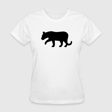 Black Panther Silhouette - Women's T-Shirt