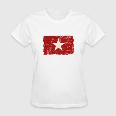 Vietnam Flag - Vintage Look  - Women's T-Shirt