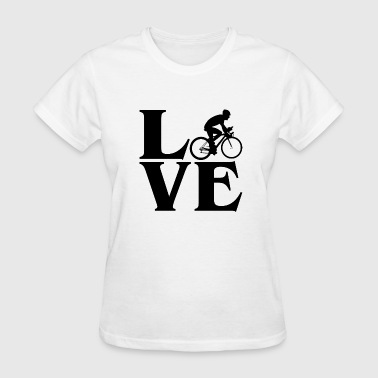 Love To Bike Love Bike - Women's T-Shirt
