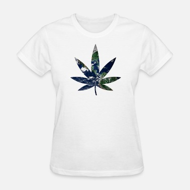 Weed Flag Weed - Women's T-Shirt