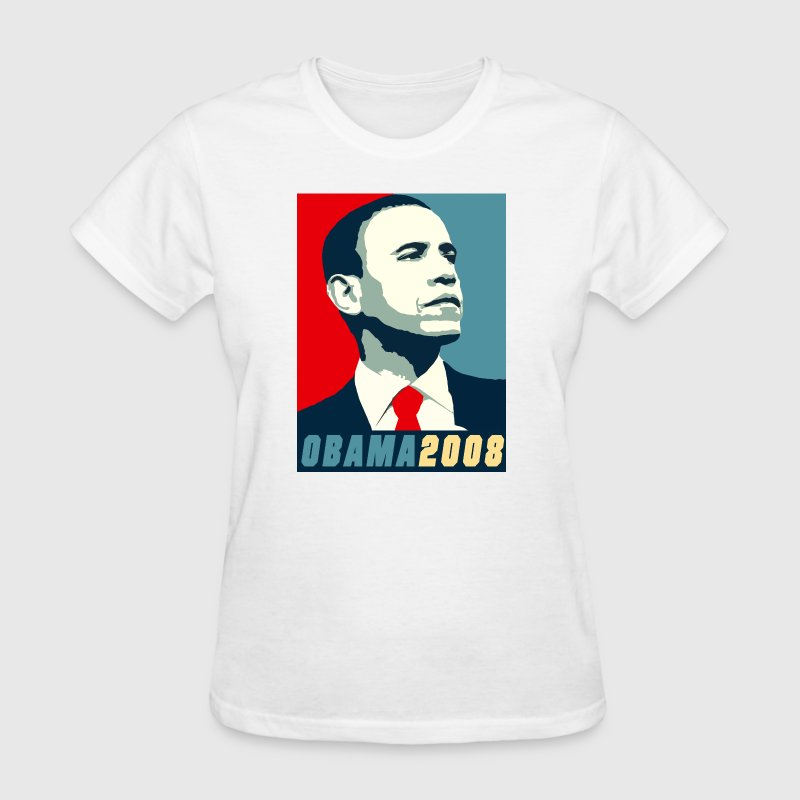 VOTE BARACK OBAMA 2008 - Women's T-Shirt