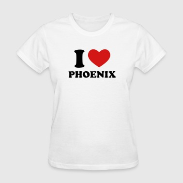 I Love Phoenix - Women's T-Shirt