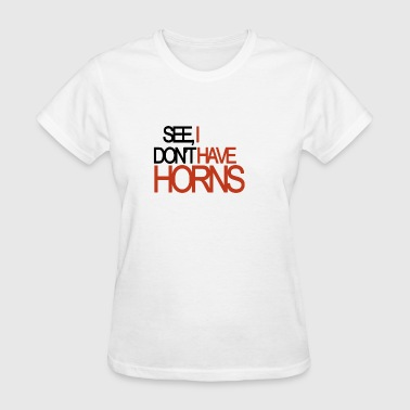 Mormon horns - Women's T-Shirt