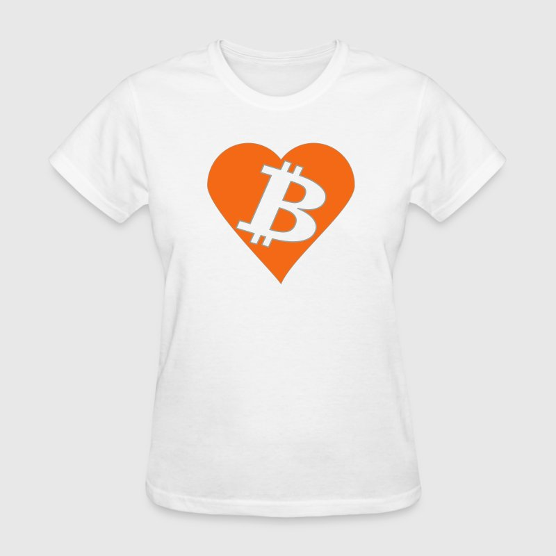 love bitcoin - Women's T-Shirt