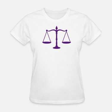 Scale Of Justice justice scales - Women's T-Shirt