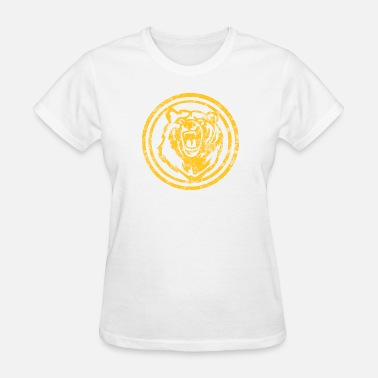 Funny Bruins Yellow Distressed Bruin - Women's T-Shirt