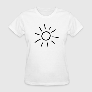 Draw Sportswear Sun drawing - Women's T-Shirt
