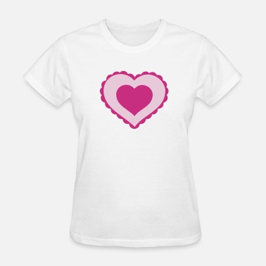 Lovehearts Loveheart Design - Women's T-Shirt