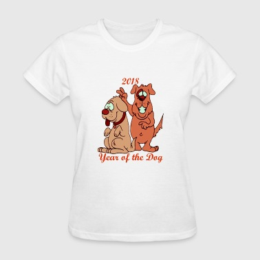 Year of the Dog 2018 - Women's T-Shirt