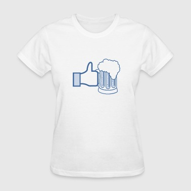 Like Beer - Add Your Own Text - Women's T-Shirt