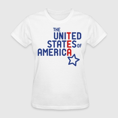 USA Tea Party Type - Women's T-Shirt