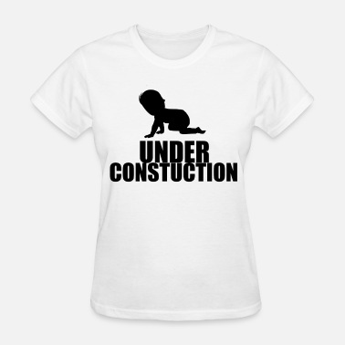 Undertale Baby BABY under construction - Women's T-Shirt