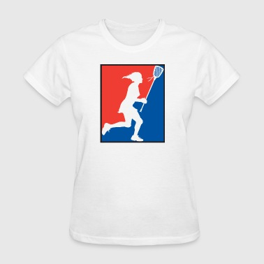 Girls Lacrosse - Women's T-Shirt