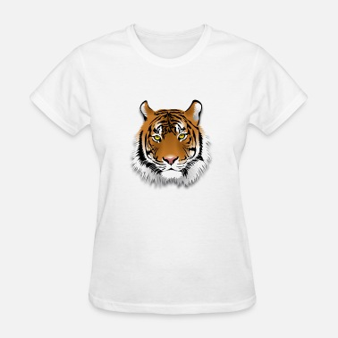 Tigers Leopards lion leo tiger leopard - Women's T-Shirt