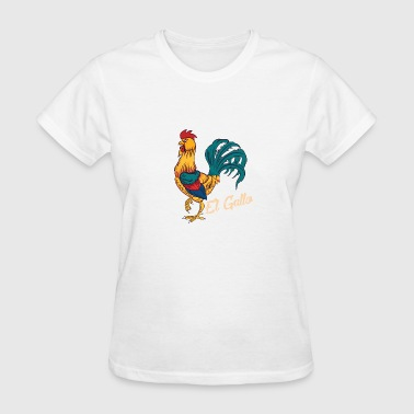 El Gallo Loteria Vintage Distressed - Women's T-Shirt