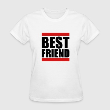 Friends Logo bars best friends text logo friends best love coup - Women's T-Shirt