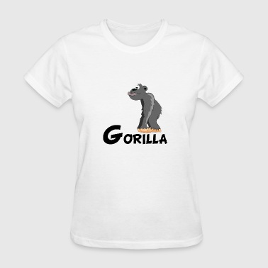 Cartoon Gorilla - Women's T-Shirt
