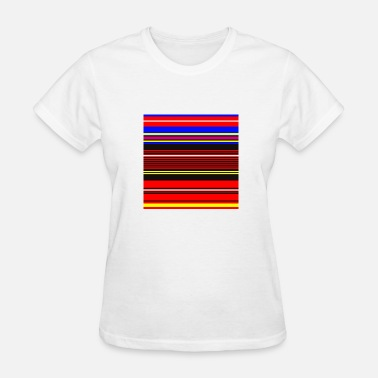 Stripe Stripes French and German - Women's T-Shirt