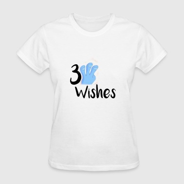 3 Wishes 3 Wishes Abstract Design. - Women's T-Shirt