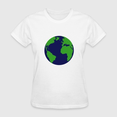 Earth, world - Women's T-Shirt