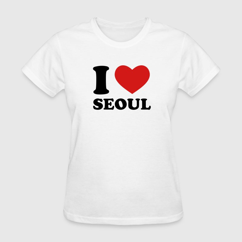 I Love Seoul - Women's T-Shirt