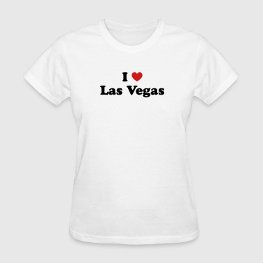 Love Las Vegas I love Las Vegas - Women's T-Shirt