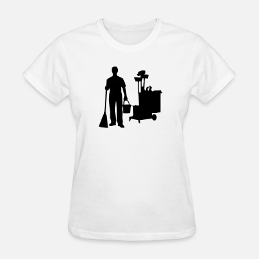 Cleaning Man Cleaning - Women's T-Shirt