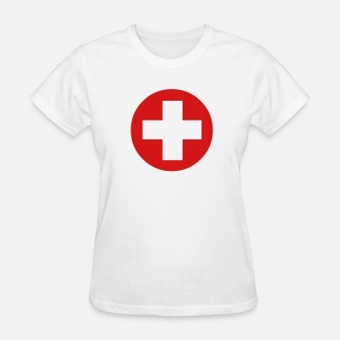 Medical Cross Medical Cross Symbol - Women's T-Shirt