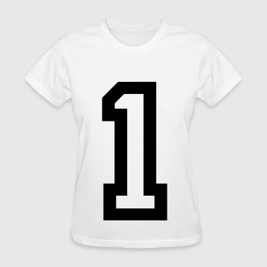 Number 1 Number 1 - Women's T-Shirt