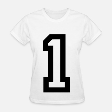 1 - Number Number 1 - Women's T-Shirt
