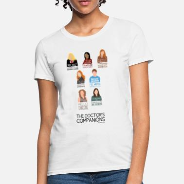 Oswald Doctor Who Companions (alternate version) - Women's T-Shirt