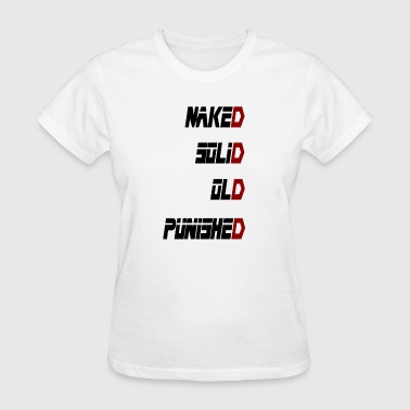 Metal Gear Solid - Naked Solid Old Punished - Women's T-Shirt