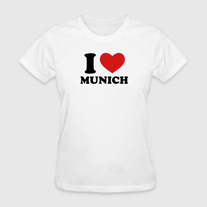 I Love Munich - Women's T-Shirt