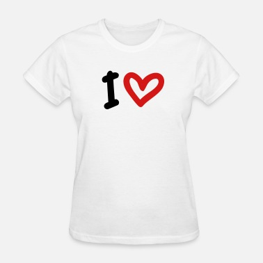 I Heart I Love / I Heart - Women's T-Shirt